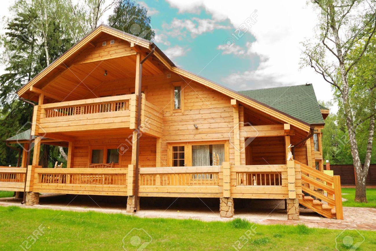 - Casas de madera bonitas ...